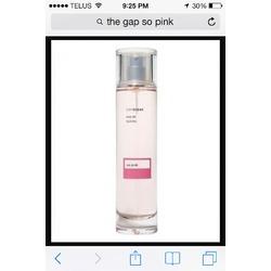 The Gap So Pink Perfume