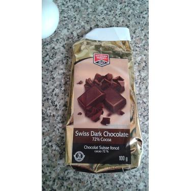 western family swiss dark chocolate