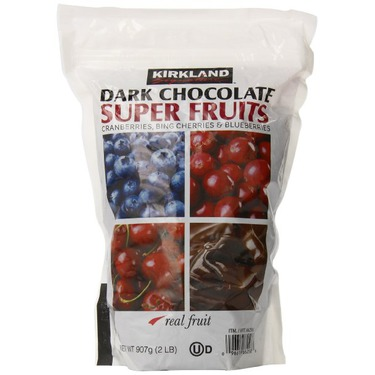 Kirkland Signature Dark Chocolate Super Fruits