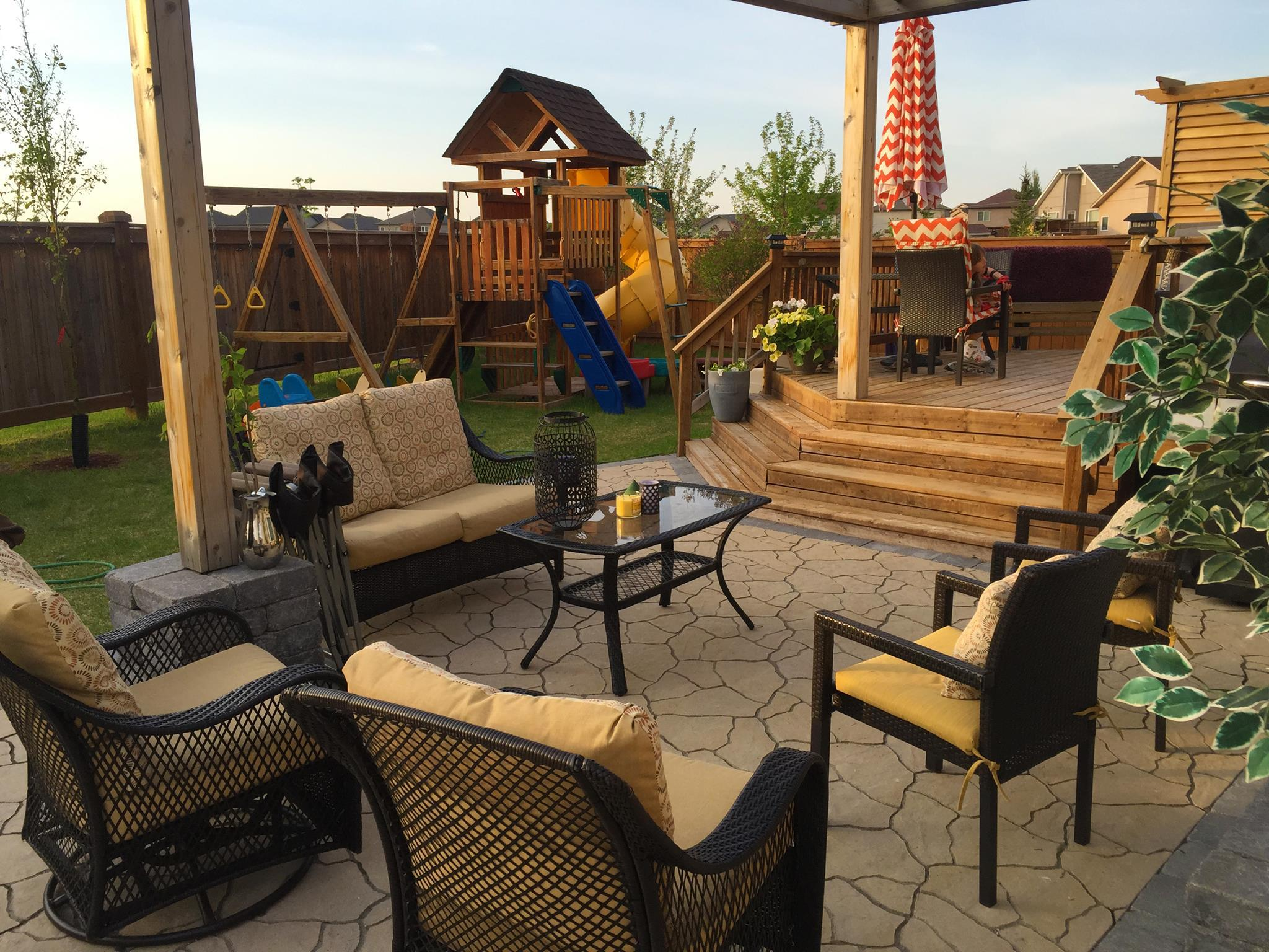 New Backyard Creations Patio Furniture