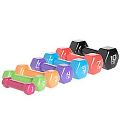 Cap Barbell Vinyl Coated Dumbbells