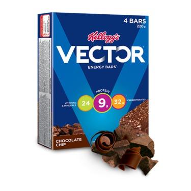 Vector Energy Bar Chocolate Chip