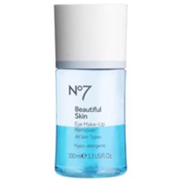 No 7 beautiful Skin Eye Make-Up Remover