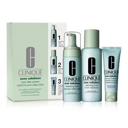 Clinique Acne Solution Clear Skin System
