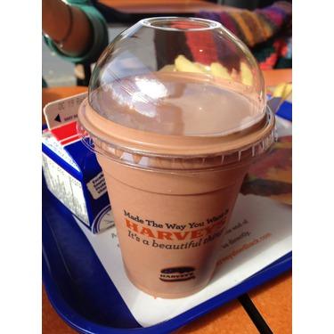 Harvey's Chocolate Milkshake