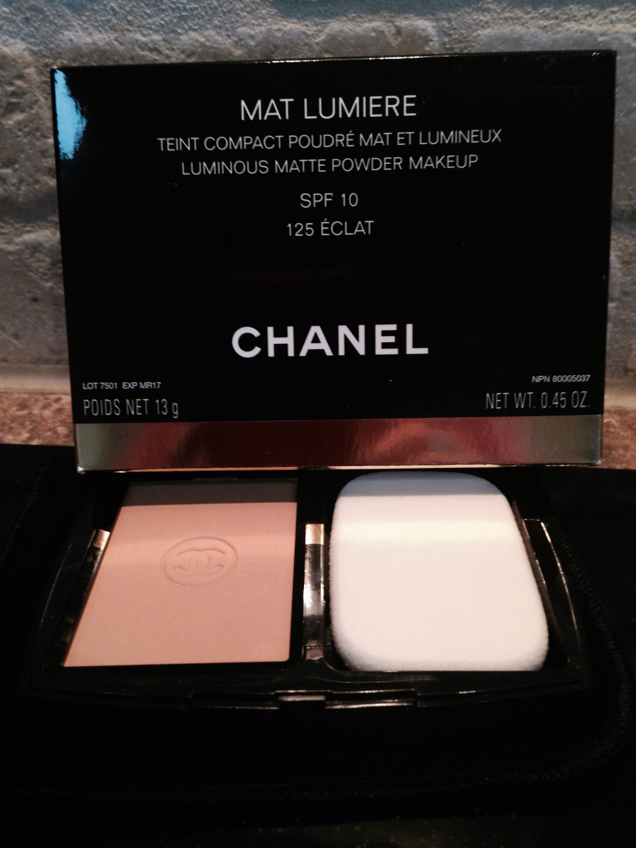 Chanel Mat Lumiere Luminous Matte Powder Makeup Reviews In