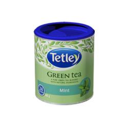 Tetley mint green tea