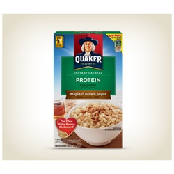 Quaker Protein Maple & Brown Sugar Oatmeal