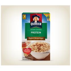Quaker Protein Maple & Brown Sugar Oatmeal