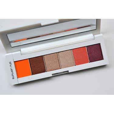shu uemura brave beauty eye palette in orange