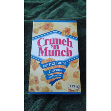 Crunch n' munch buttery toffee with peanuts