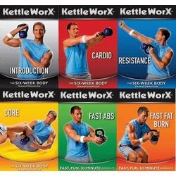 KettleWorx Workout DVDS