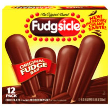 Fudgesicle Fudge Frozen Dessert Bars