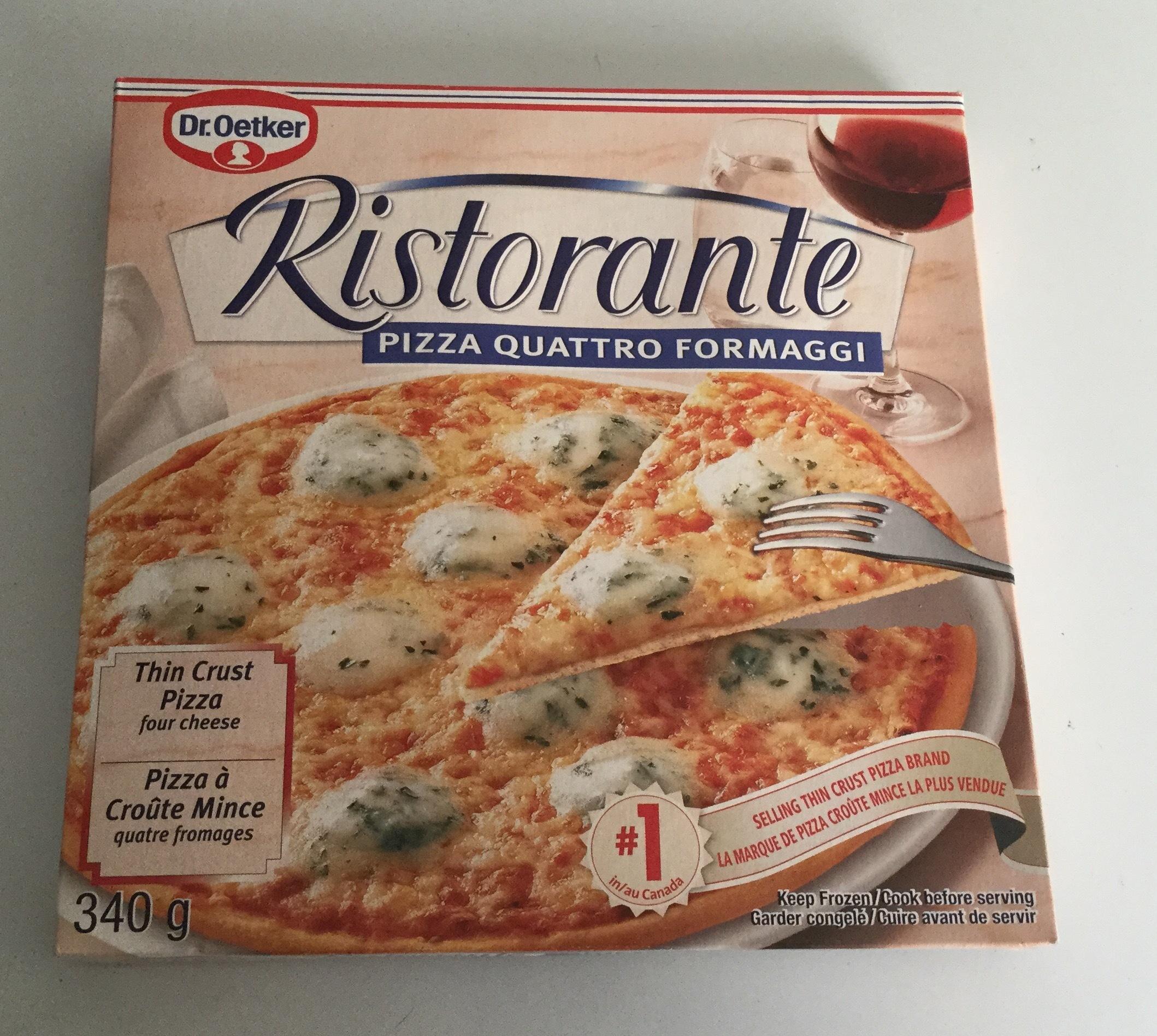 dr oetker ristorante pizza quattro formaggi reviews in frozen pizza chickadvisor. Black Bedroom Furniture Sets. Home Design Ideas