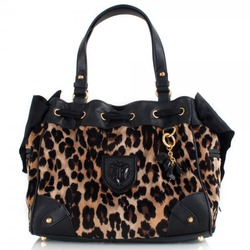 Juicy Couture Leopard Daydreamer Shoulder Bag