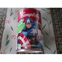 Campbell's Avengers Chicken pasta soup