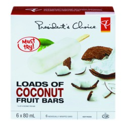 President's Choice Loads of Coconut Fruit Bars