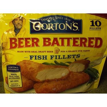 Gortons Beer Battered Fish Fillets