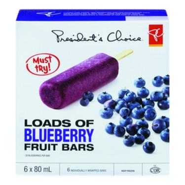 PC Loads of Blueberry Frozen Fruit Bars