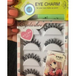 5pairs Handmade Seamless False Eyelashes