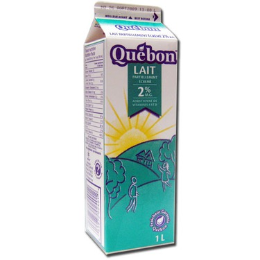 Quebon 2% milk