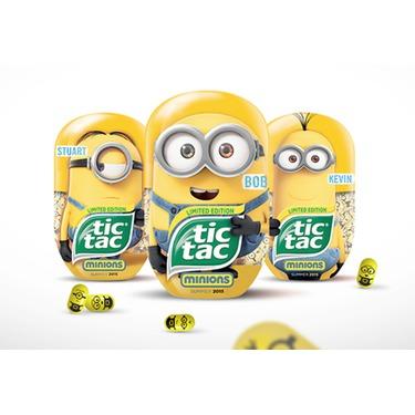 Tic Tac Minion special edition passion fruit flavor