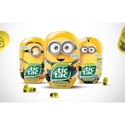 Tic Tac Minion special edition passion fruit flavor