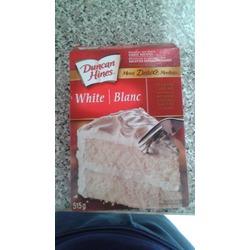 Duncan Hines moist deluxe white