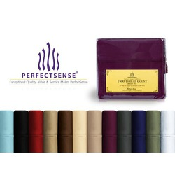 Perfect Sense 1500 Thread Count Luxury Soft Deep Pocket 4-Pcs Bed Sheets