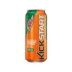 Mountain Dew Kickstart in Orange and Citrus