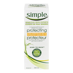 Simple Kind To Skin Protecting Light Moisturizer SPF 15