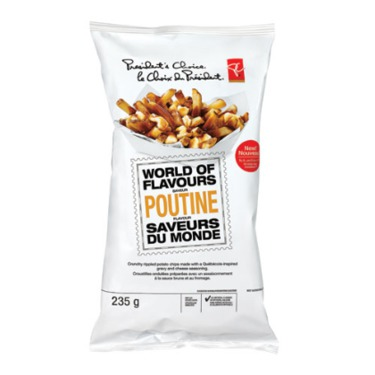 PC World of Flavours Poutine Chips