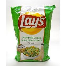 Lay's Creamy Garlic Caesar Chips