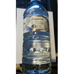 Compliments Natural Spring Water