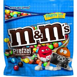 M&M;Pretzels