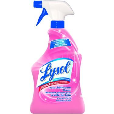 Lysol Bathroom Cleaner Trigger Summer Fresh