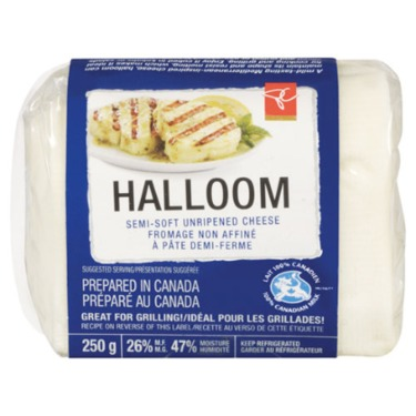 President's Choice Halloom Semi-Soft Unripened Cheese
