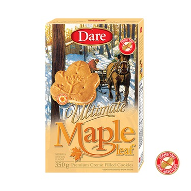 Dare Ultimate Maple Leaf Cookies