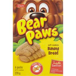Dare Bear Paws Banana Bread