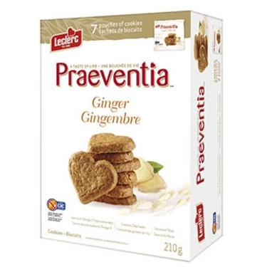 Leclerc Praeventia Ginger Cookies