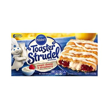 Pillsbury Toaster Strudel- Strawberry and Creamcheese