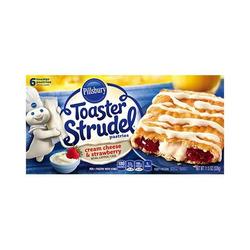 Pillsbury Toaster Strudel- Strawberry and Creamcheese