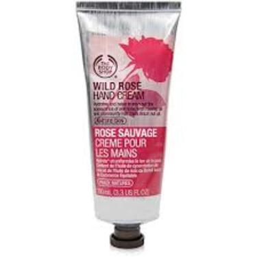 the body shop wild rose hand cream