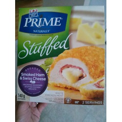 Maple leaf prime stuffed chicken breast smoked ham and swiss cheese