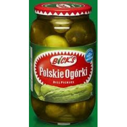 bicks polskie ogorki dill pickles