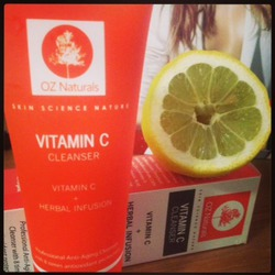 OZ Naturals Vitamin C Cleanser + Herbal Infusion