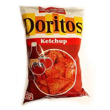 Dorito's Ketchup Tortilla's