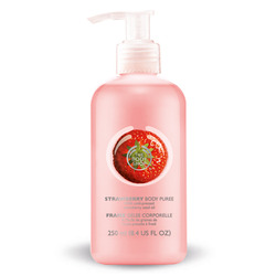 The Body Shop Strawberry Puree Body Lotion