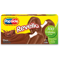 Popsicle Revello Chocolate Coated Frozen Dessert Bars