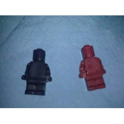 Lucentee Silly Candy & Ice Molds (Legos)